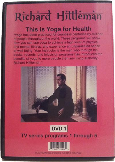 Richard Hittleman's Yoga for Health featuring Cheryl and Lyn