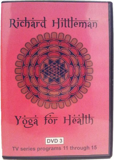 Richard Hittleman's Yoga for Health DVD 3