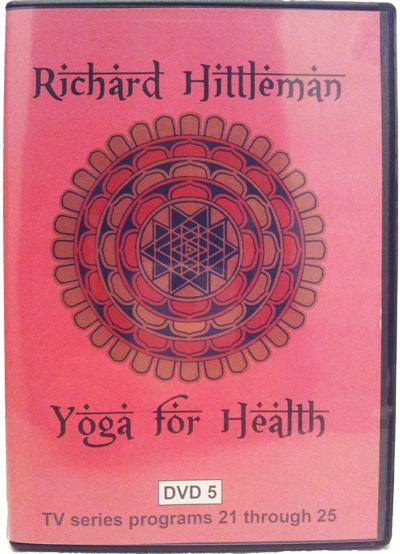 Richard Hittleman's Yoga for Health DVD 5