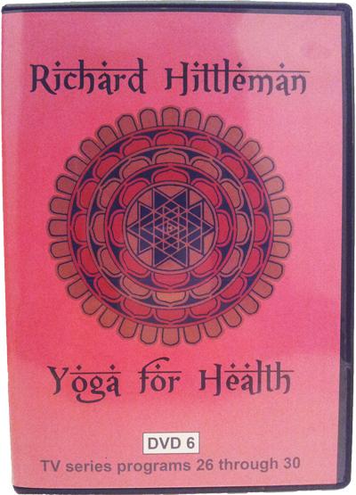 Richard Hittleman's Yoga for Health DVD 6