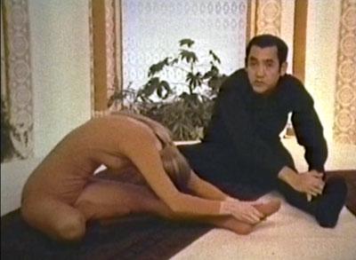 Richard Hittleman Cheryl stretching